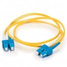 8m SC/SC Duplex 9/125 Single Mode Fiber Patch Cable - Yellow