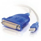 6ft USB Serial DB25 Adapter Cable