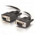 1ft DB9 M/F Extension Cable - Black