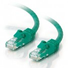 1ft Cat6 550 MHz Snagless Patch Cable - Green