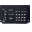 4-Output Audio/Video + S-Video Distribution Amplifier