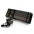 9-Output Component Video + Stereo Audio Distribution Amplifier