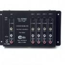 4-Output Audio/Video + S-Video Distribution Amplifier